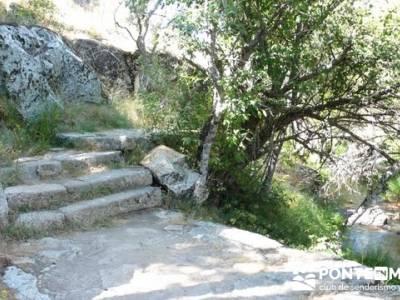 Las Pesquerías Reales - Senderismo Segovia (Ruta de las Pesquerías Reales); senderos pr